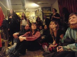 Drumface crowd