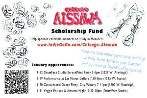 Chicago Aissawa 01-2013 flyer
